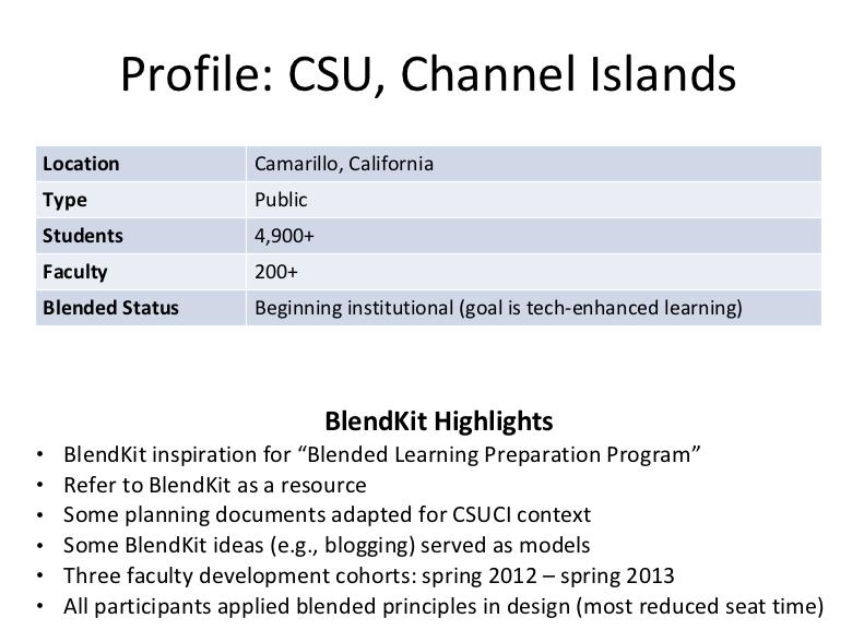Profile of CSUCI